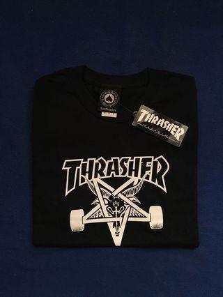 THRASHER SKATE GOAT TEE BLACK