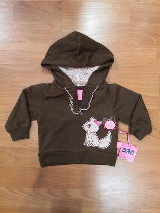 Baby Girl Sweater (Brown)