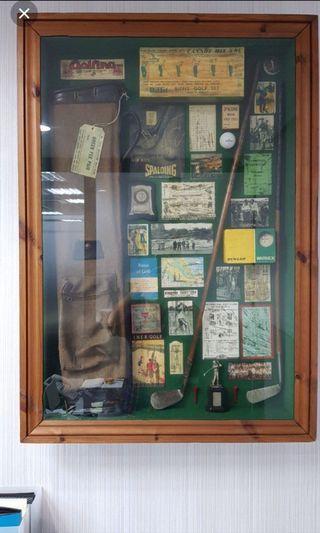 入手6萬收藏超過25年,德國高爾夫古董精品,降價請自取