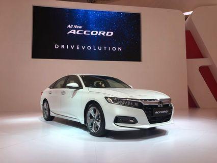 Promo all new honda Accord 2019 mesin turbo 1.500cc
