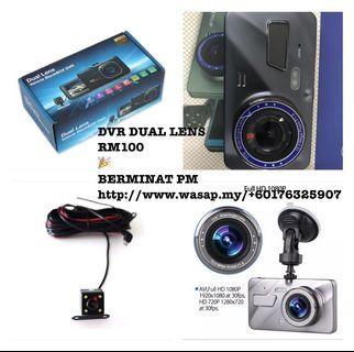 Car Recorder DVR DUAL LENS🔥