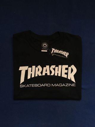 THRASHER SKATE MAG TEES BLACK