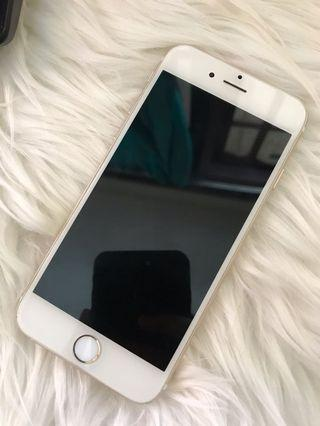 iPhone 6 - Gold 64GB Fullset✨