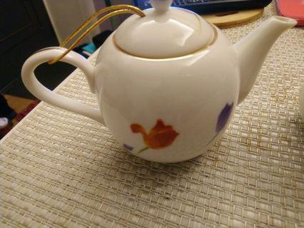 陶瓷茶壺+茶杯5入
