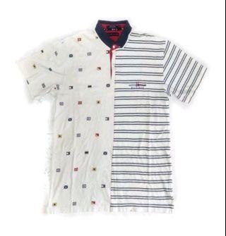 Tommy Hilfiger two pattern t shirt