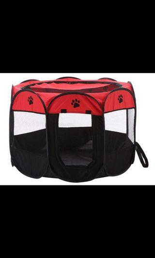 Foldable and portable pet playpen/ fence 73*73*43CM
