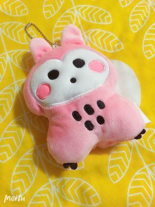 全家 兔福 兔子 票卡夾 零錢包 隨身吊飾 可愛娃娃 鑰匙圈
