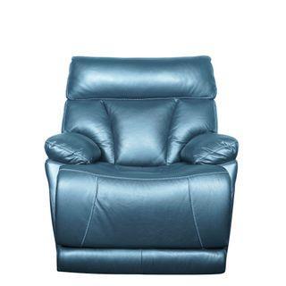 Motorised Recliner Armchair Italian Top Grain Leather