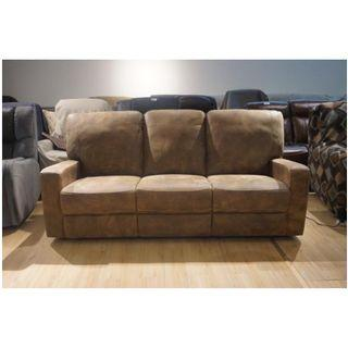 Direct Factory sales!3 Motorized Recliner Leather Sofa