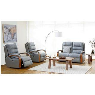 Direct factory sales!Power Recliner 3 Seater Leather Sofa