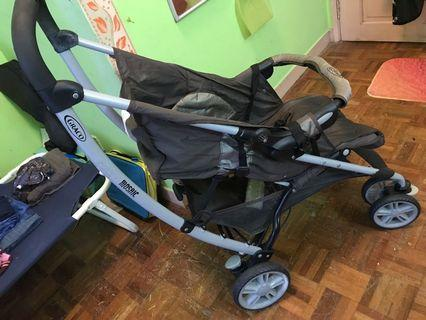 GRACO Usa 🇺🇸 solid sturdy pram cum stroller
