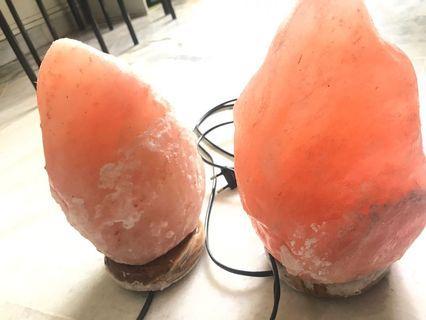 HIMALAYA crystal rock salt lamp rm70 each