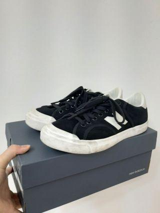 new balance 黑色板鞋 24.5