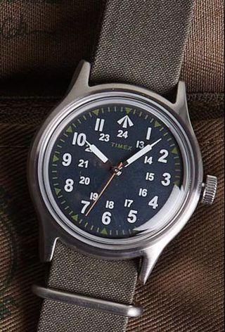 Nigel Cabourn x Timex Nam Watch 越戰軍錶