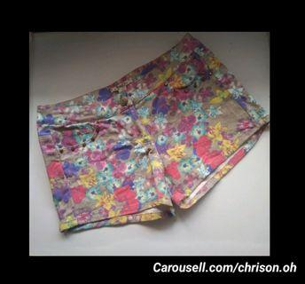 Floral Hotpants Very J
