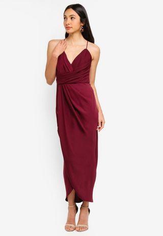 Forever New Charlotte Drape Dress