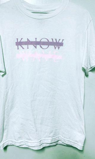 Know wave logo 短袖T恤 上衣 粉紫色 美國品牌 supreme stussy Carhartt ACW Alyx