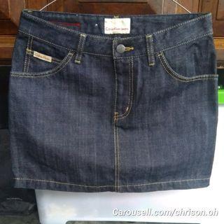 Rok Jeans Calvin Klein