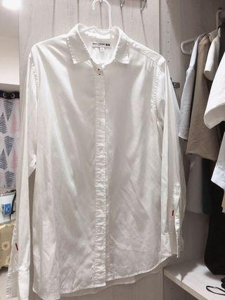 UNIQLO聯名系列 INES DE LA FRESSANGE白襯衫