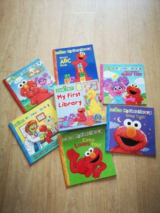 Sesame Street My First Library