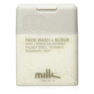 Milk & Co. Men's Natural Face Wash and Scrub, 5 Fluid Ounce