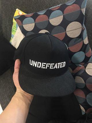 Undefeated cap supreme authentic