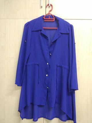Flowy chiffon blouse