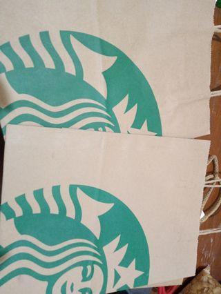 Paperbag starbuck