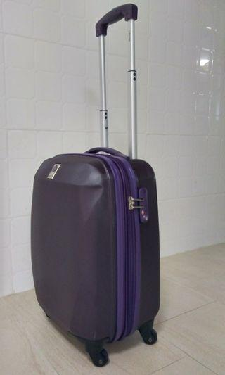 Purple Delsey Cabin Luggage