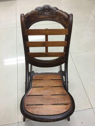 木雕遙遙椅