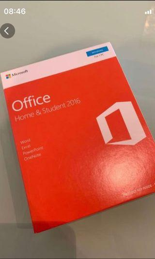 Brand New Microsoft Office Home and Student Edition