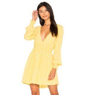 For Love & Lemons Chiquita Long Sleeve Dress