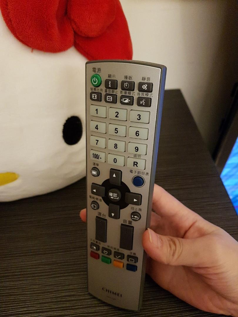 奇美電視遙控器