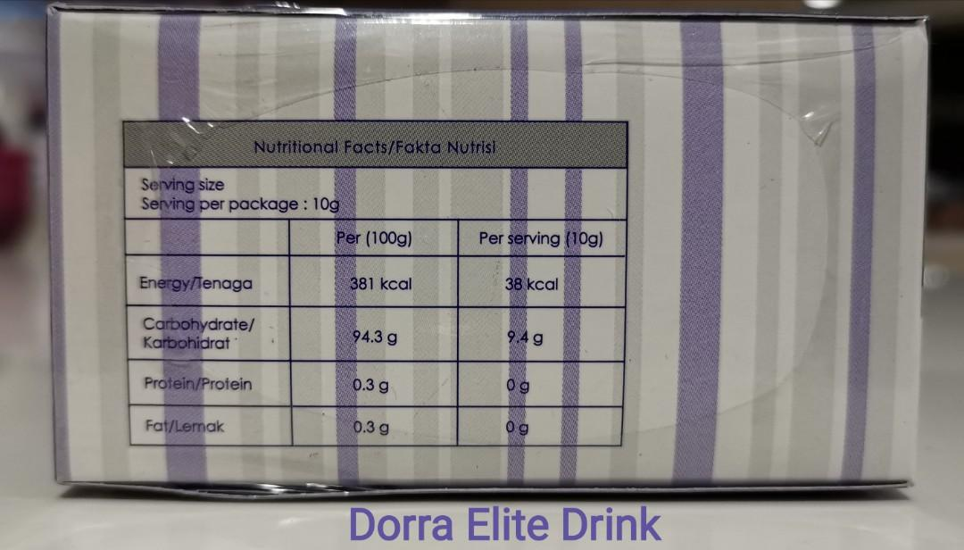 """🆕 [Up to 65% OFF] DORRA """"MiX and MatcH"""" Supplemental Drinks (HALAL)"""