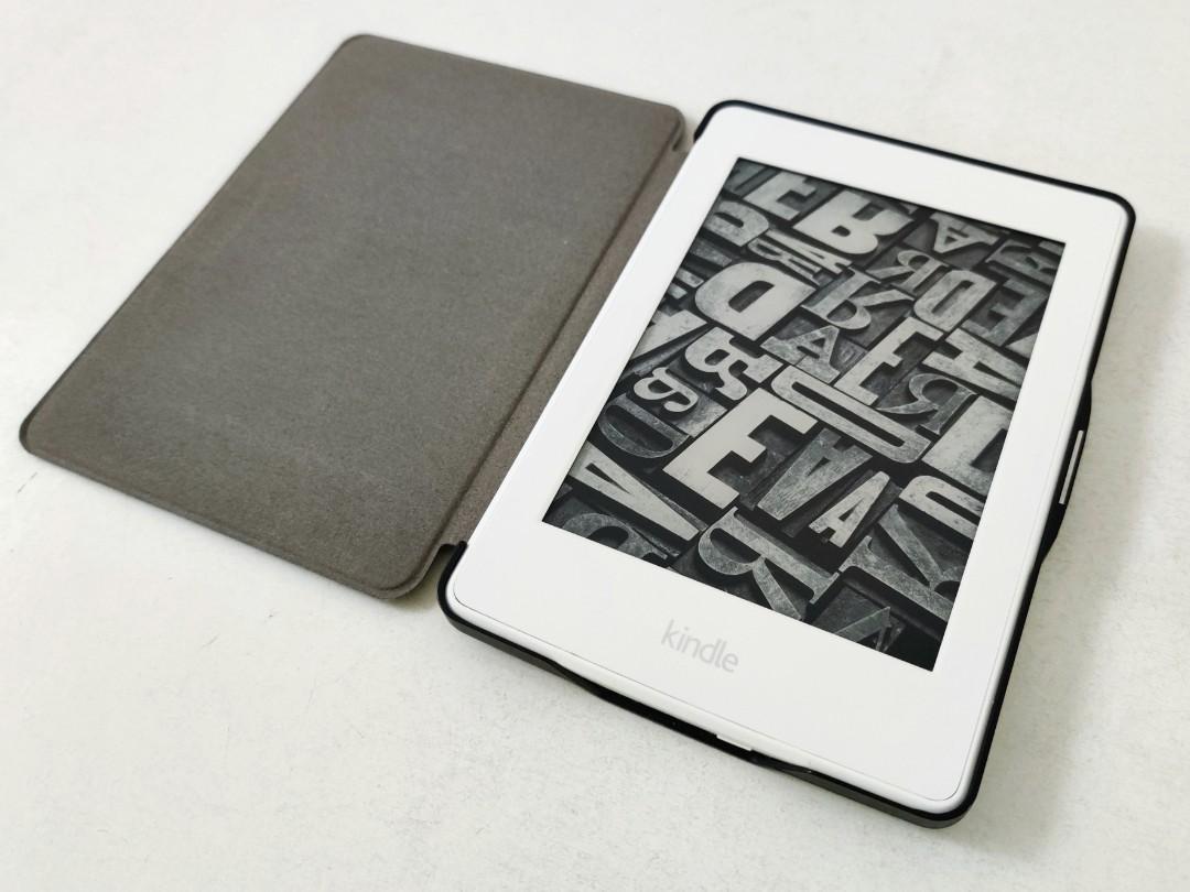 Amazon Kindle Paperwhite 3 電子書 白色版 2018年購入