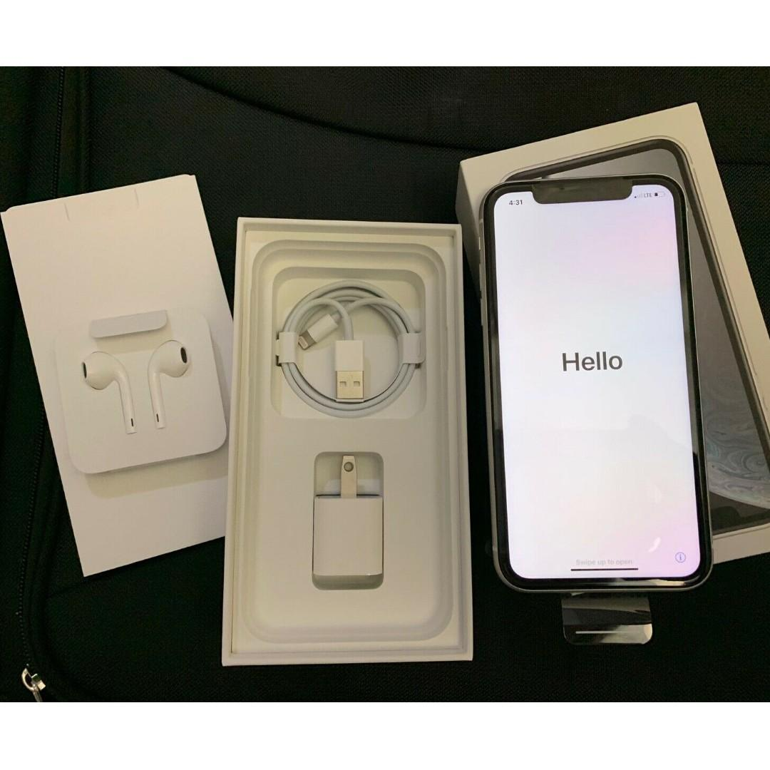 Apple iPhone XR - 64GB - White (AT&T) A1984 (CDMA + GSM)