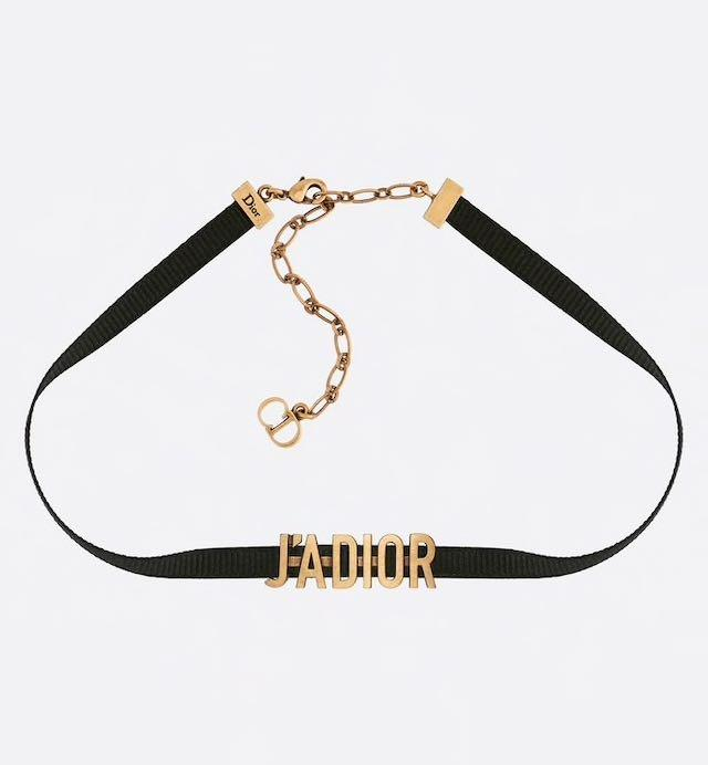 Authentic Dior Chocker Necklace