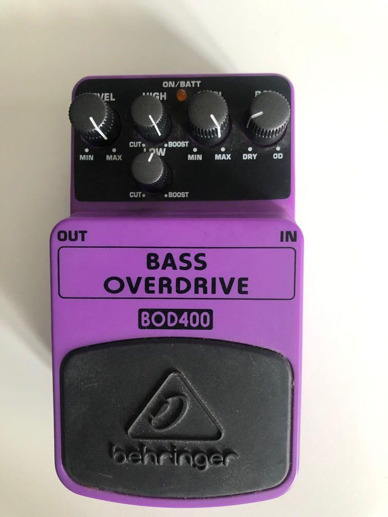 Behringer Bass Overdrive Pedal