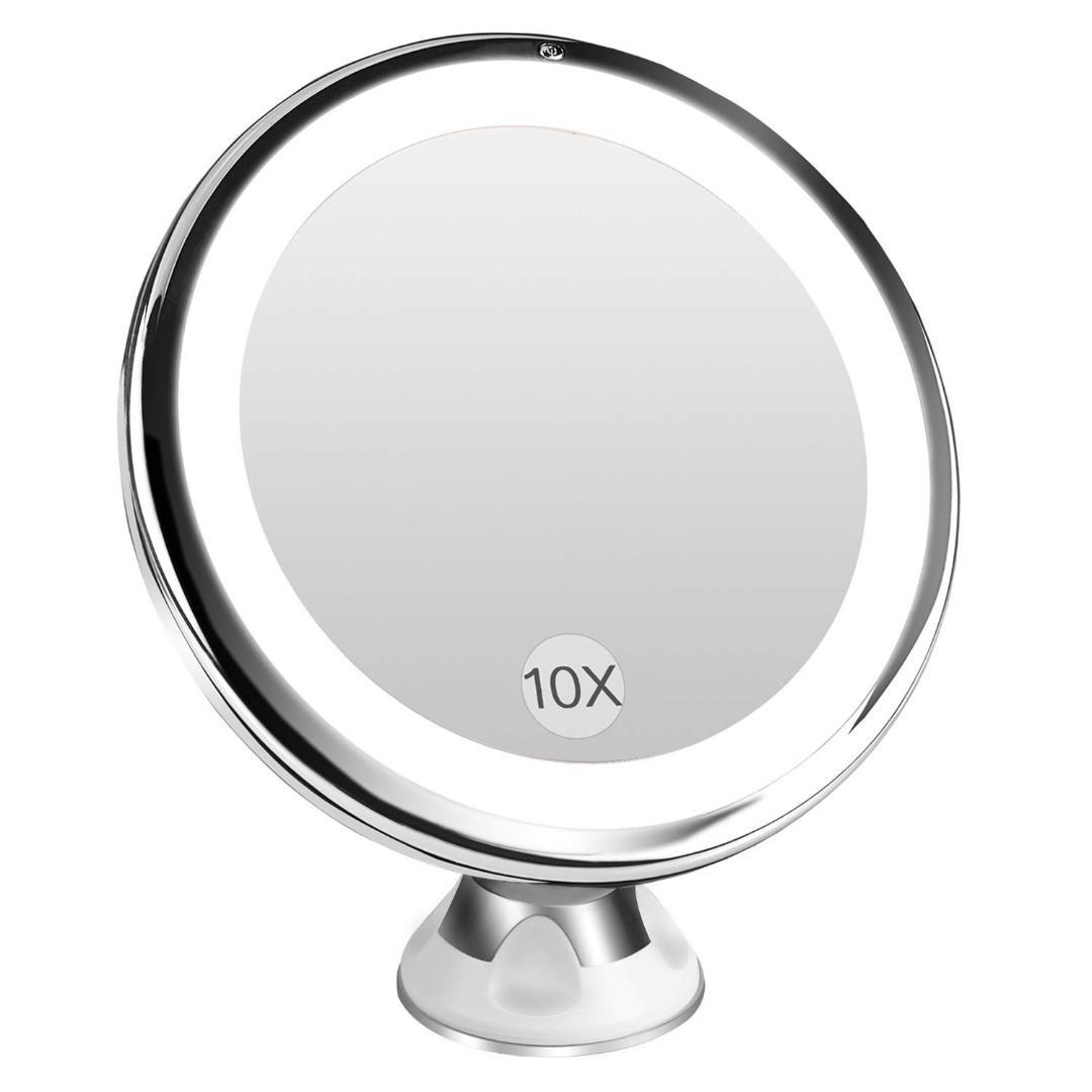 Bestope Lighted Makeup Mirror 10x