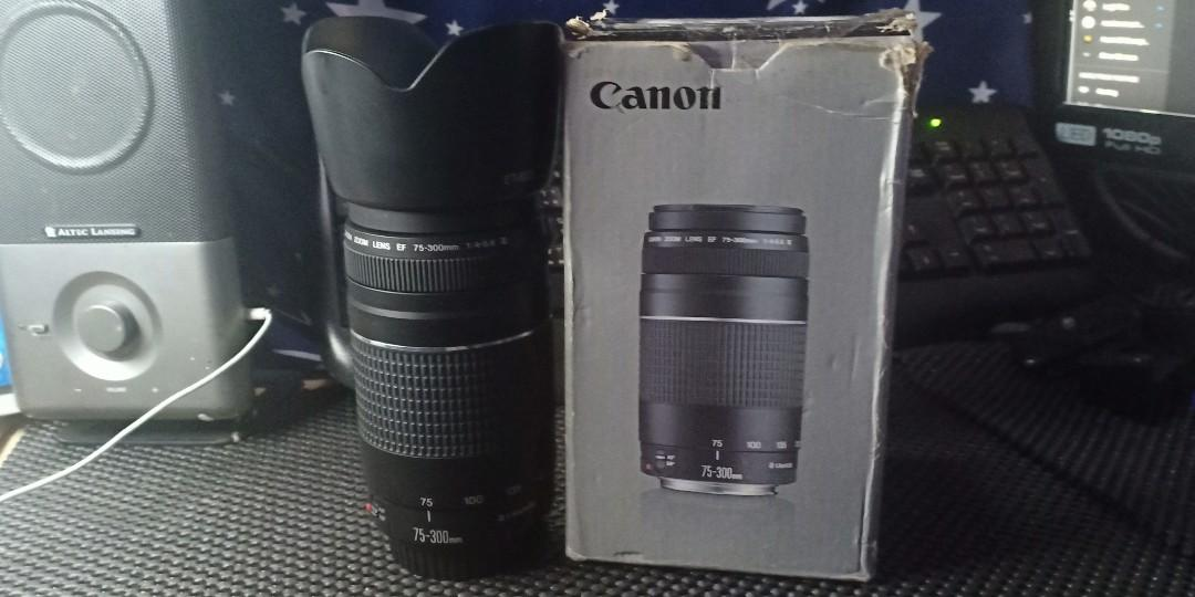 Canon 60d with  canon  EF 75-300 mm