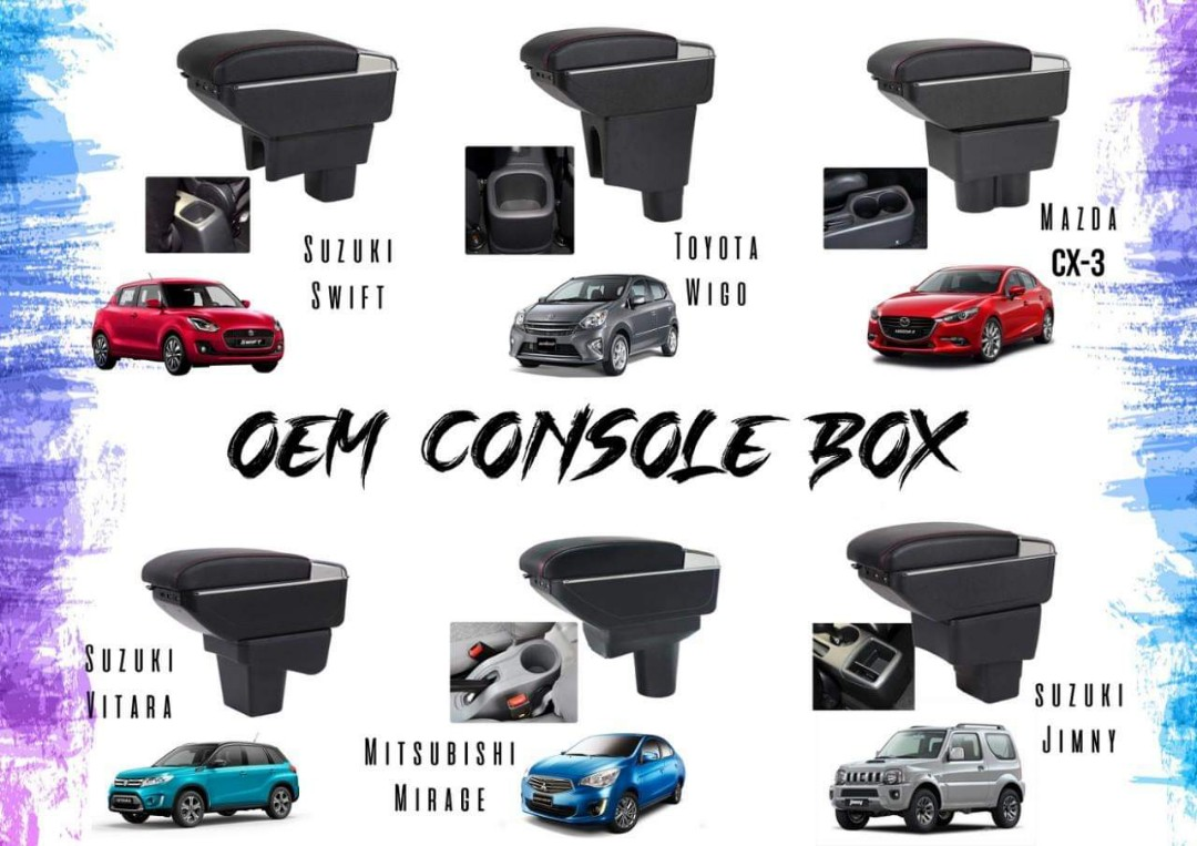 Console Box/Armrest on Carousell