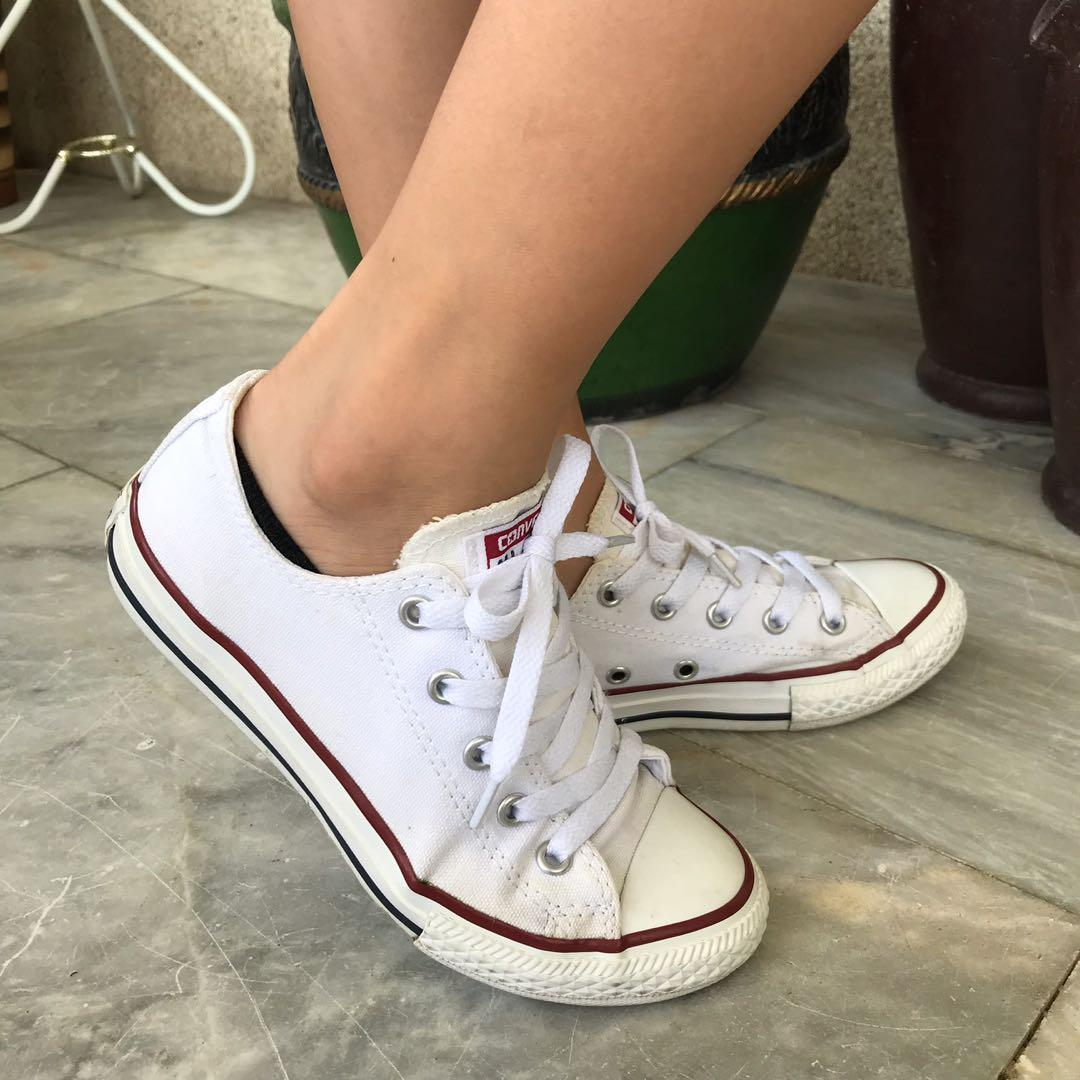 Converse All Star Optical White Youth 1 on Carousell