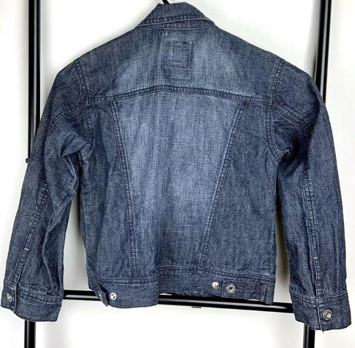 CR Kids Country Road 6 blue girl boy denim jacket motorbike fashion casual