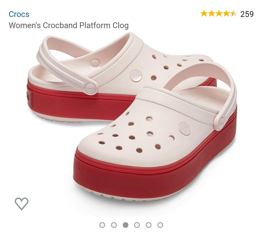 Crocs Women's Crocband Platform Clogs