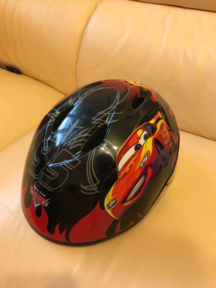 Disney 反斗車王 小童單車頭盔