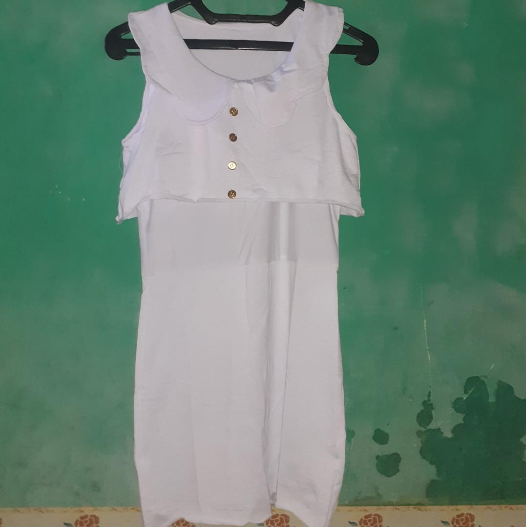 Dress Putih Mini