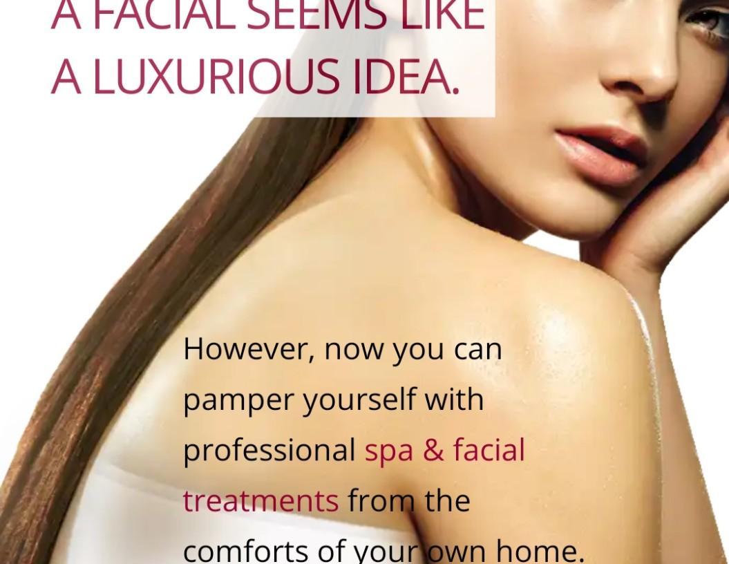 Mobile Spa Facial Treatment