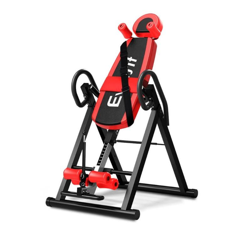 Everfit Inversion Table Gravity Stretcher Inverter Foldable Home Fitness Gym
