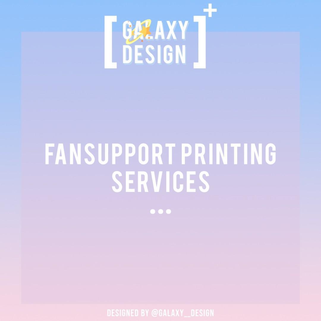 Fansupport Printing / Customisation