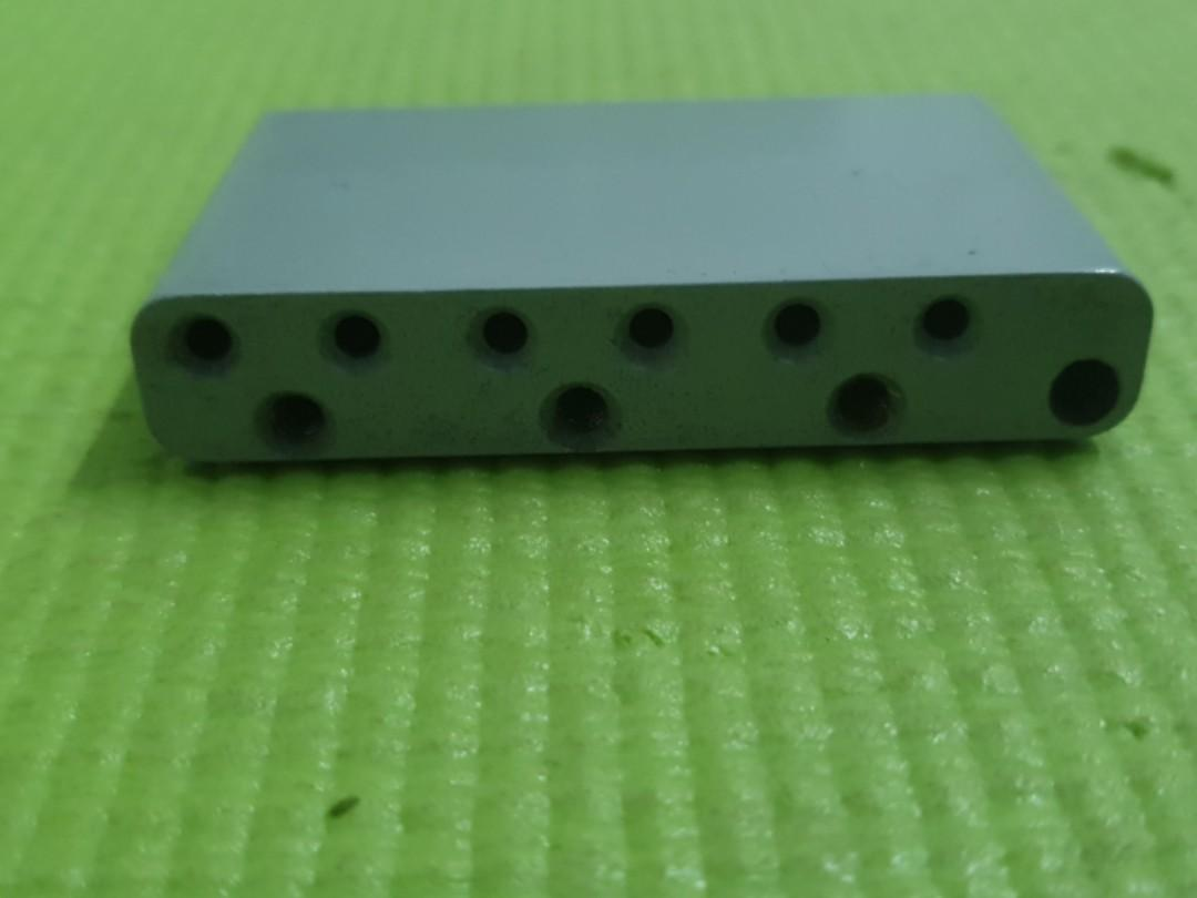 Fender American standard tremolo steel bridge block 2 post 2-1/16 string space